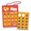 Aftelkalender Sinterklaas met Stickers