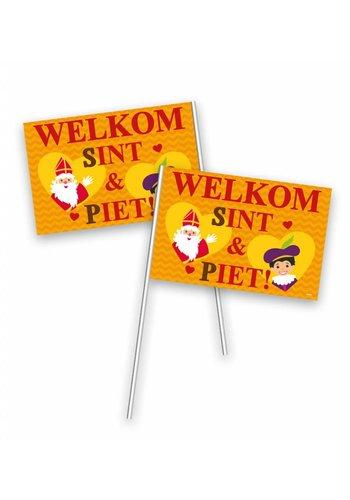Zwaaivlaggetje Sinterklaas - 30x20 cm