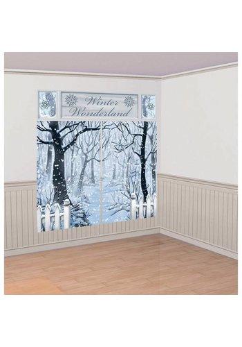 Set Scene Setter Winter Wonderland - 5 stuks