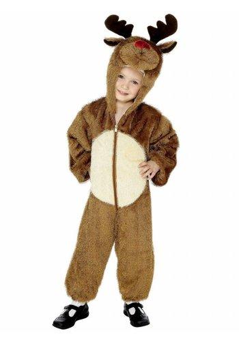 Rendier kostuum - 7 tot 9 jaar