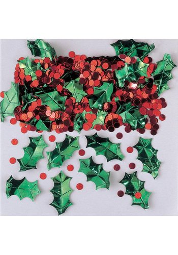 Confetti Holly with Berries Metallic 14 g