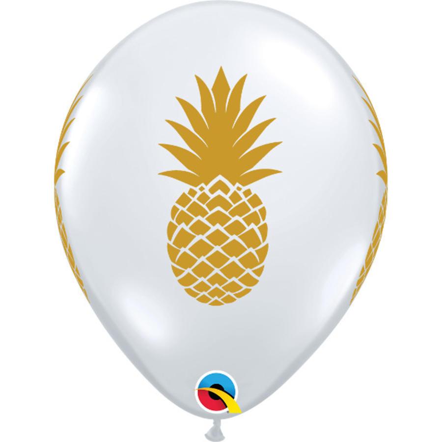 "11"" Pineapple - Transparant (28cm)-1"
