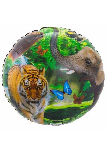 Jungle folieballon - 43cm