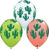 "Qualatex 11"" Cactussen - 3 kleuren (28cm)"