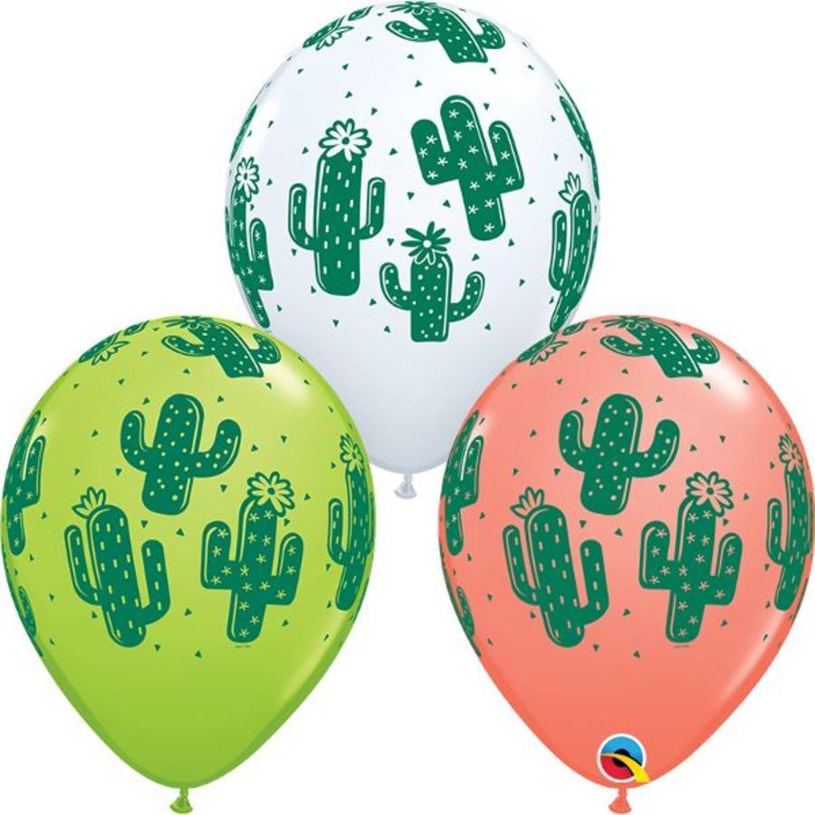 """11"""" Cactussen - 3 kleuren (28cm)-1"""