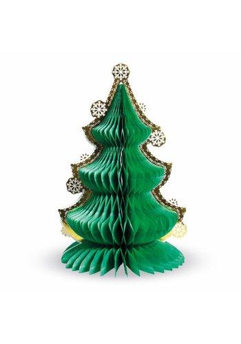 Honeycomb Kerstboom tafeldeco