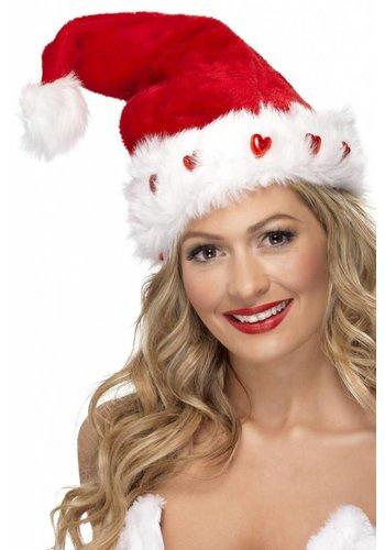 Light Up Santa Hat