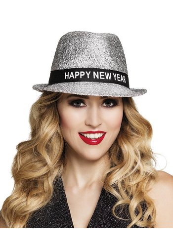 Hoed Sparkling 'Happy New Year'