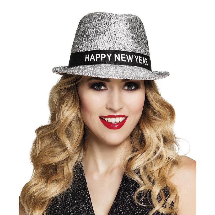Hoed Sparkling 'Happy New Year'-1