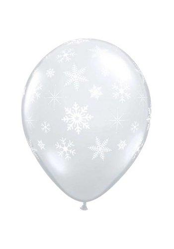 "11"" Snowflake - Transparant (28cm)"