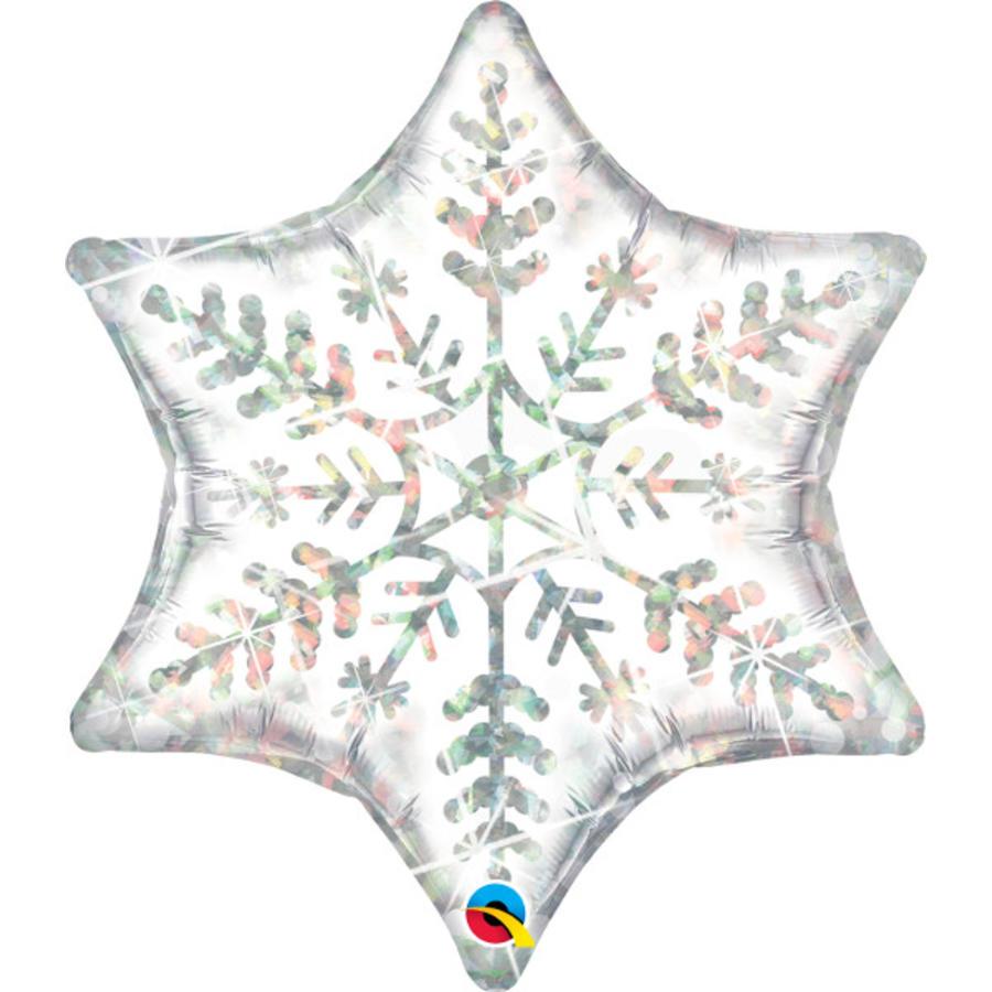 Folieballon Dazzling Snowflake -  74x81cm-1