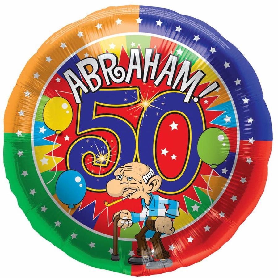 Folieballon - Abraham - 45cm-1