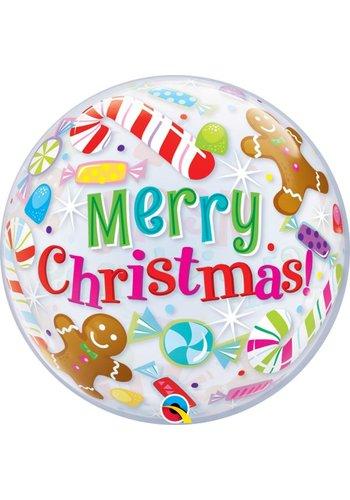 Bubble Ballon Christmas Candies & Treats - 55cm