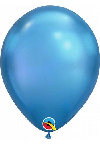 """11"""" Blue Chrome (28cm)"""