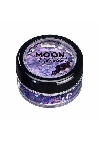 Chunky Glitter - Paars - 3 gram