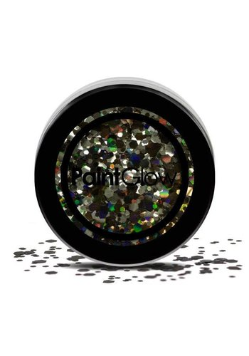 Chunky glitters - Black Enchantress -  3 gram
