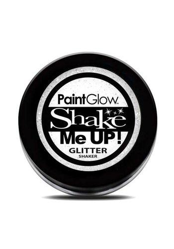 Glitter shakers - Wit - 4 gr