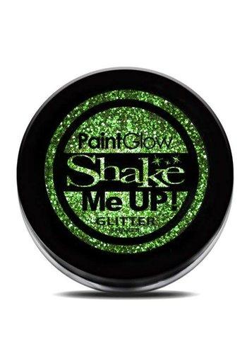 Glitter shakers - Groen - 4 gr