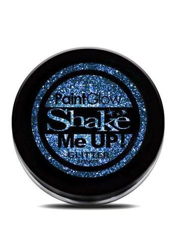 Glitter shakers - Blauw -  4 gr
