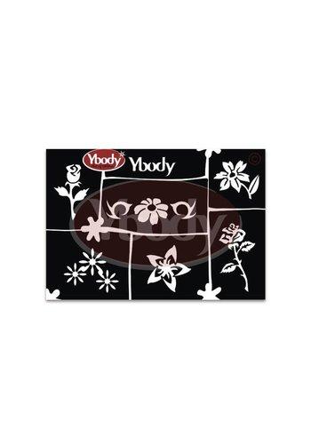 YBody Sjablonen - Flower