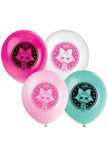 LOL Surprise Ballonnen - 8 stuks