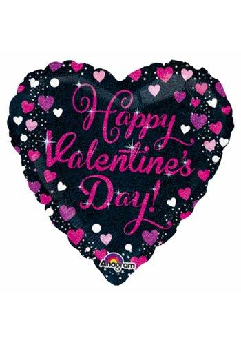 Folieballon Happy Valentine's Day - 45cm