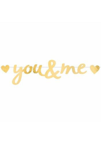 Letter Banner Everyday Love - 92x20cm