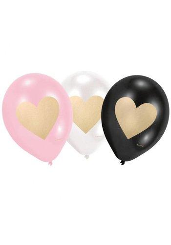 Ballonnen Everyday Love - 22.8cm - 6 stuks