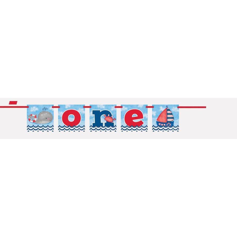 1st Birthday boy Banner One-1