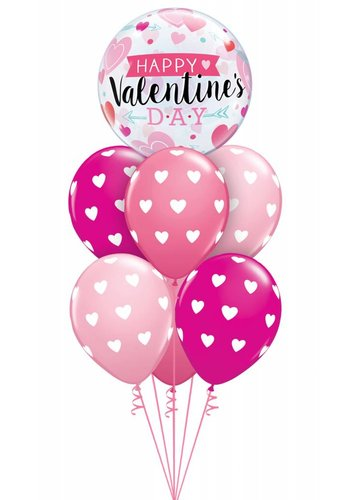 Deluxe Valentine Heart Bubble