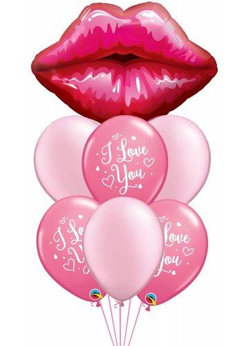 I Love You Lips Decoratie