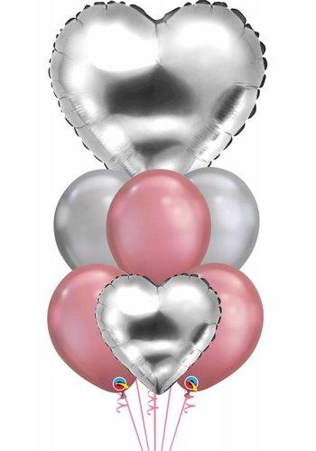 Silver Heart Chrome