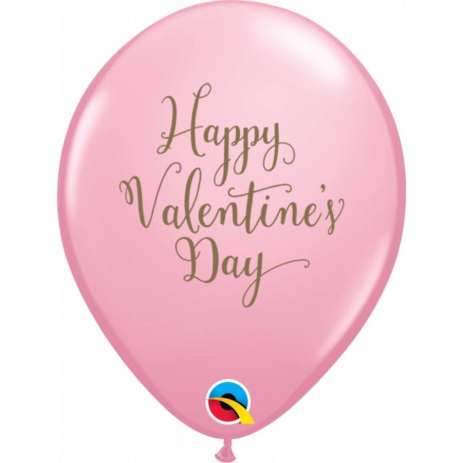 "11"" Happy Valentine's Day Gold (28cm)-2"