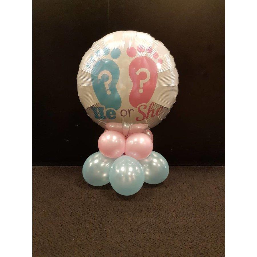 Tafel Pilaartje met folieballon-3
