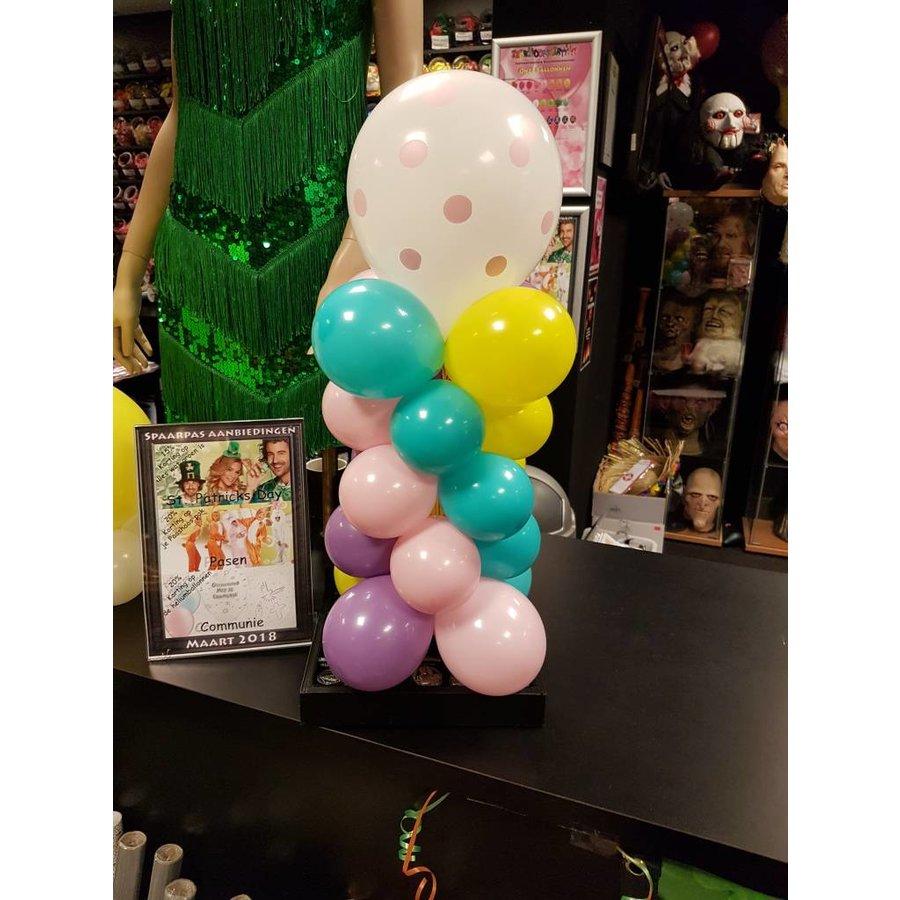 Tafel Pilaartje met folieballon-5