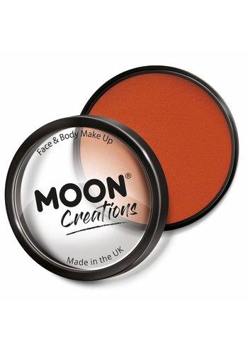 Moon Face Paint - Donker Oranje