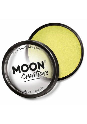 Moon Face Paint - Licht Geel