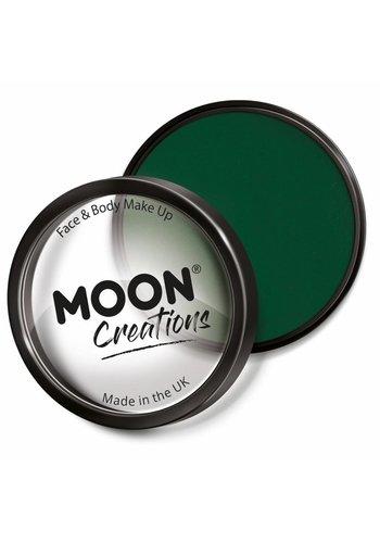 Moon Face Paint - Donker Groen