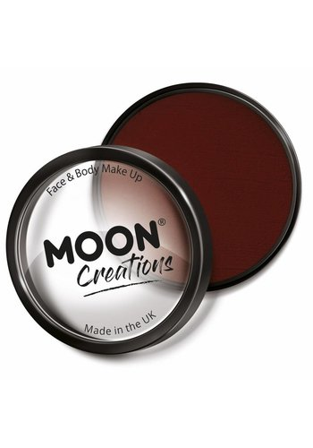 Moon Face Paint - Donker Rood