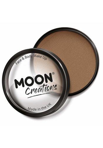 Moon Face Paint - Licht Bruin
