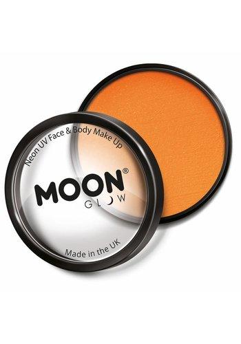 Moon UV Face Paint - Neon Oranje