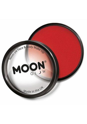 Moon UV Face Paint - Neon Rood