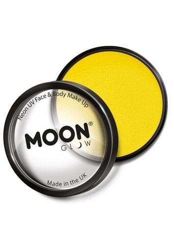 Moon UV Face Paint - Neon Geel
