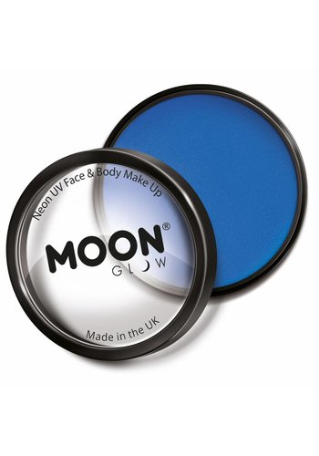 Moon UV Face Paint - Neon Blauw