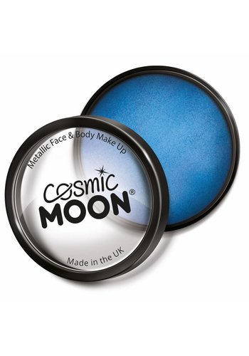 Moon Metallic Face Paint - Blauw