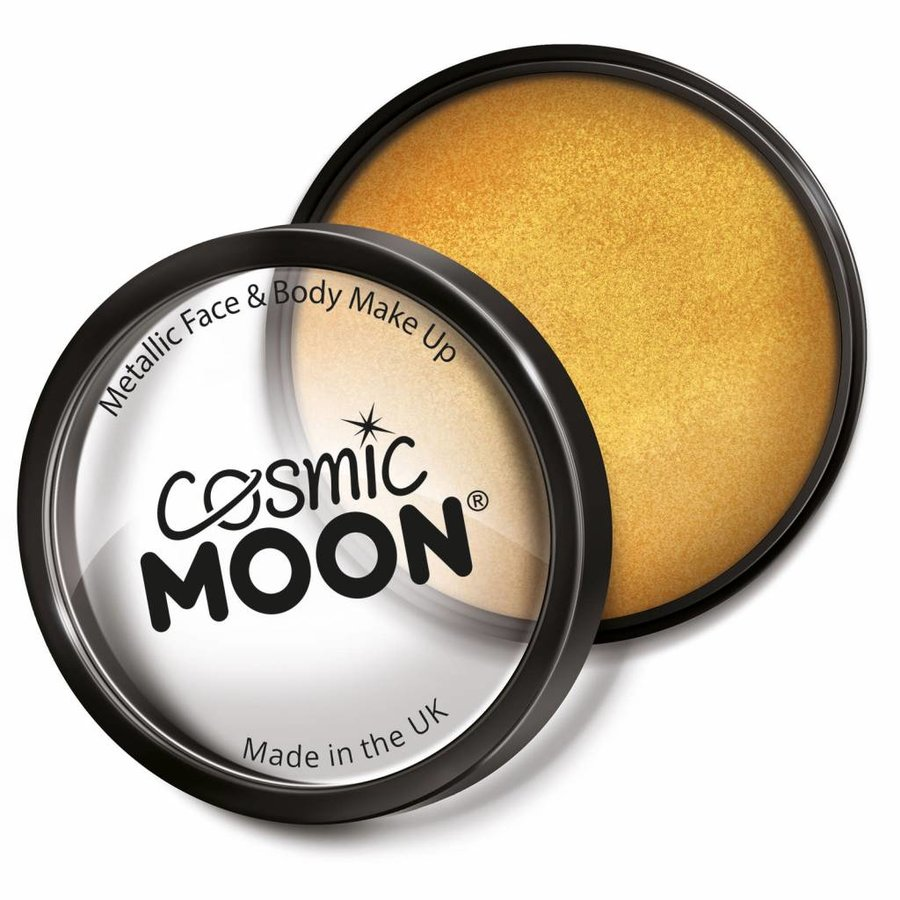 Moon Metallic Face Paint - Goud-1