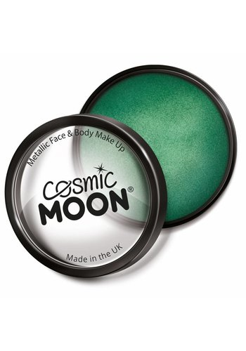 Moon Metallic Face Paint - Groen