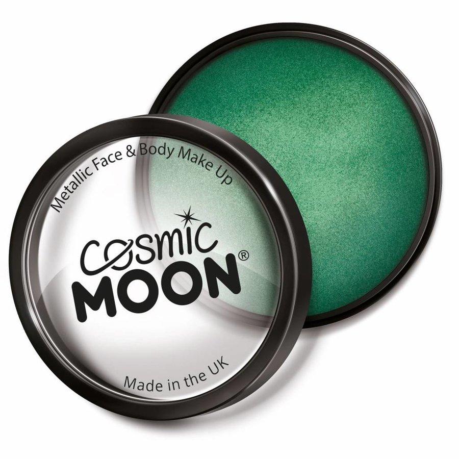Moon Metallic Face Paint - Groen-1