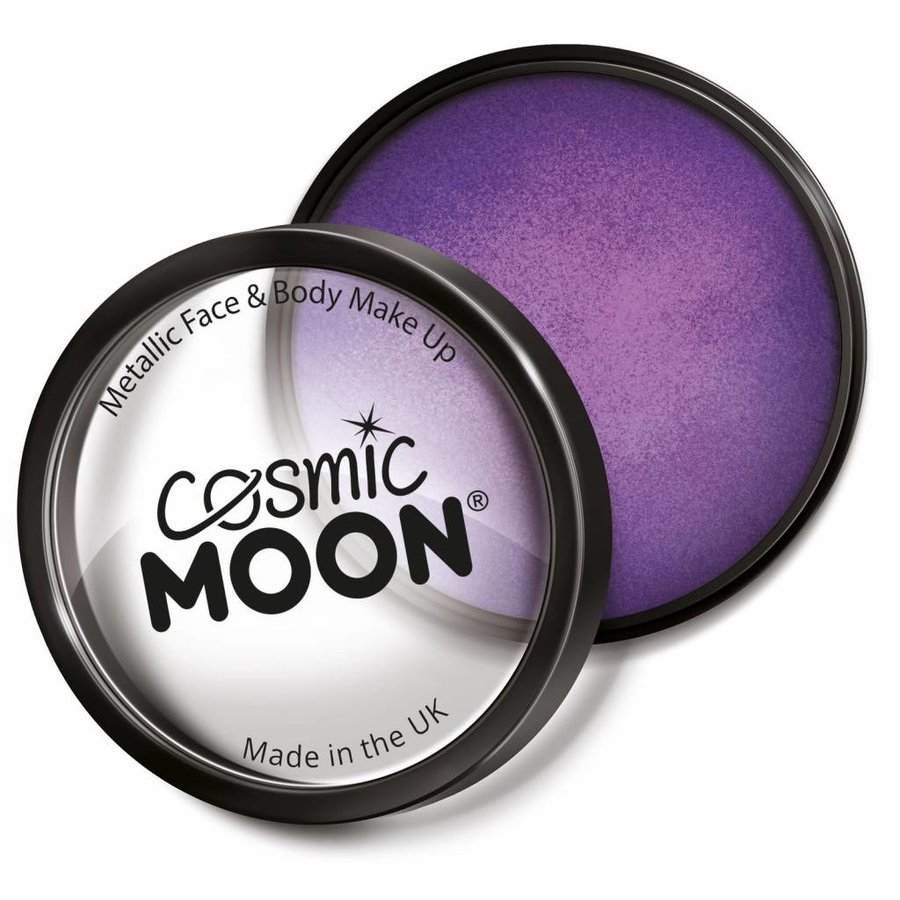 Moon Metallic Face Paint - Paars-1