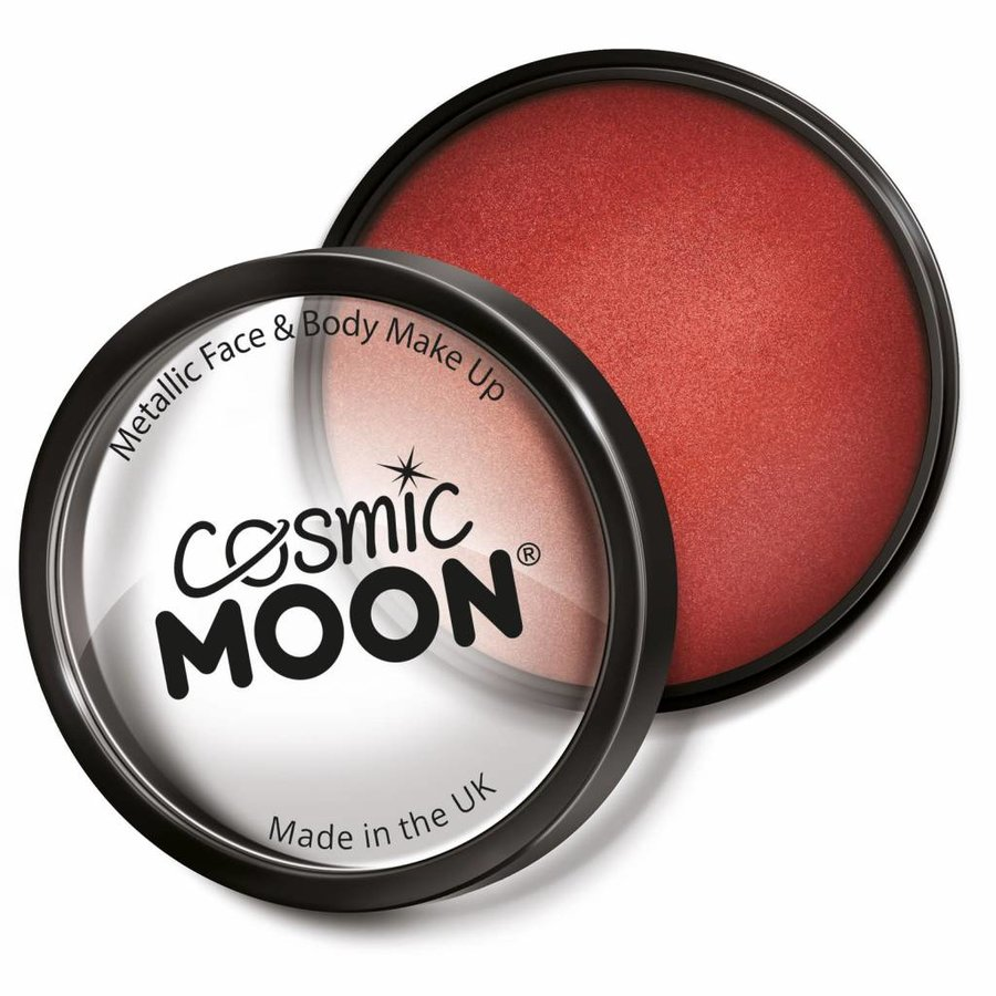 Moon Metallic Face Paint - Rood-1